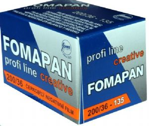 FOMAPAN 200 35mm 36exp Classic Black & White Camera Film SPECIAL PURCHASE DATED 11/2019